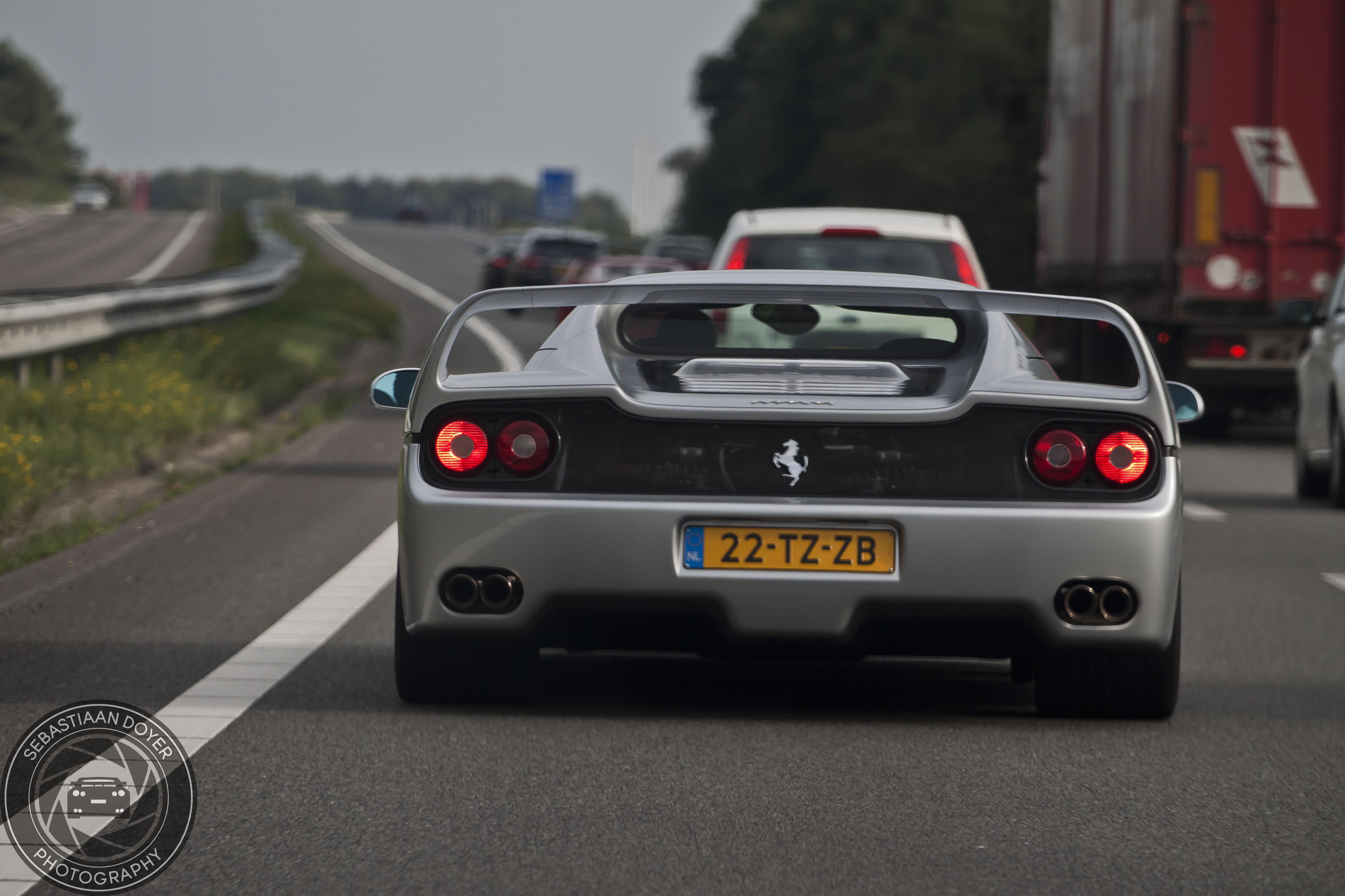 Ferrari F50 Op Nederlands Kenteken Gespot Hartvoorautos Nl