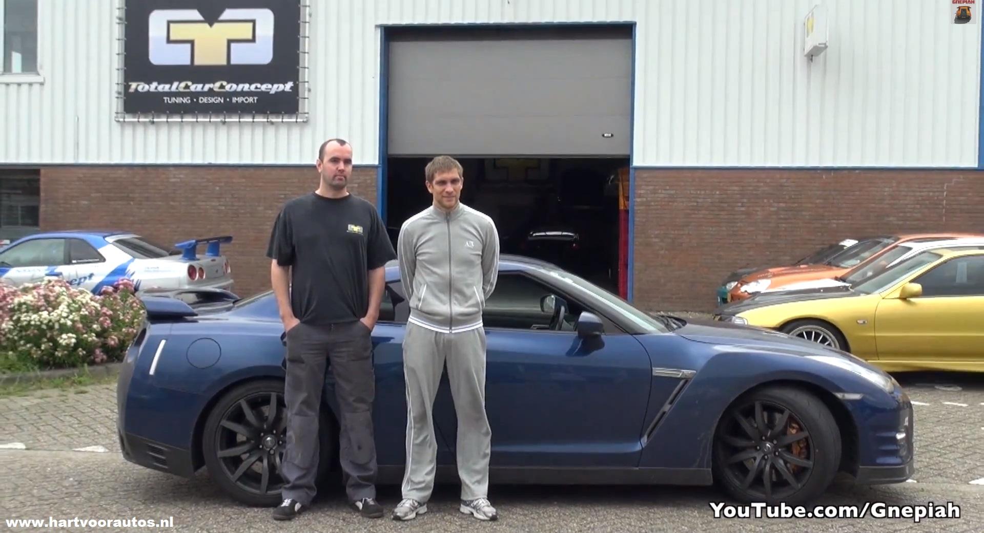 Vitaly Petrov - Nissan GT-R Switzer P800 - www.hartvoorautos.nl