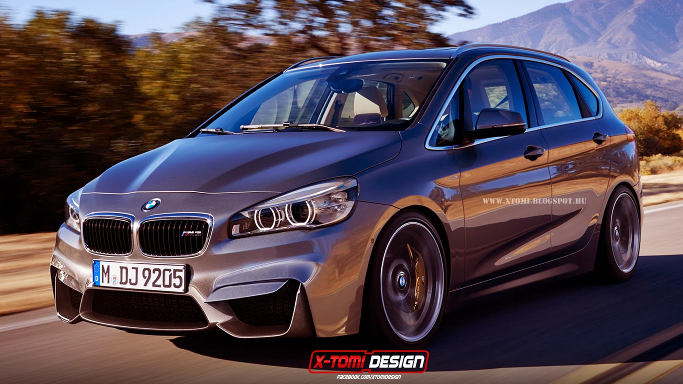 rendering bmw m2 active tourer. Black Bedroom Furniture Sets. Home Design Ideas