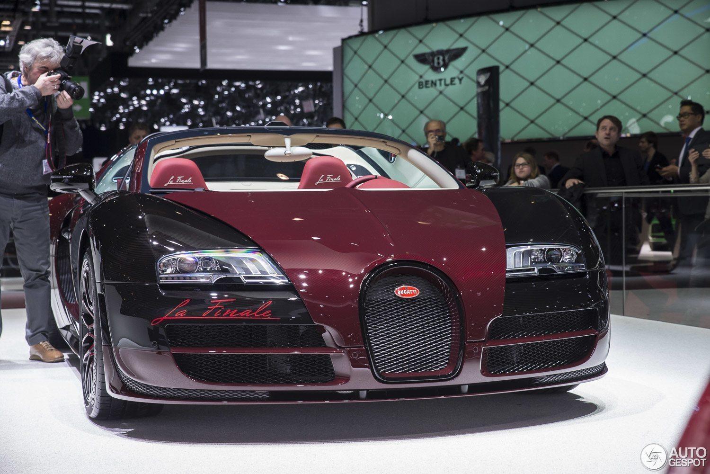 geneva motor show bugatti veyron grand sport vitesse la finale. Black Bedroom Furniture Sets. Home Design Ideas