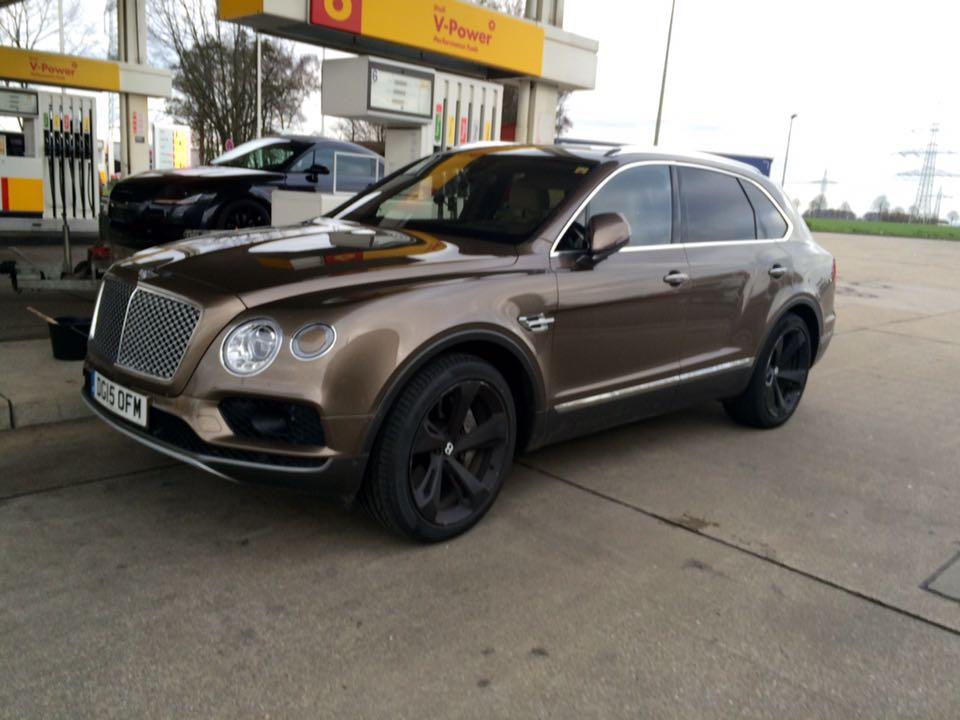 Primeur: Bentley Bentayga gespot in Nederland ...