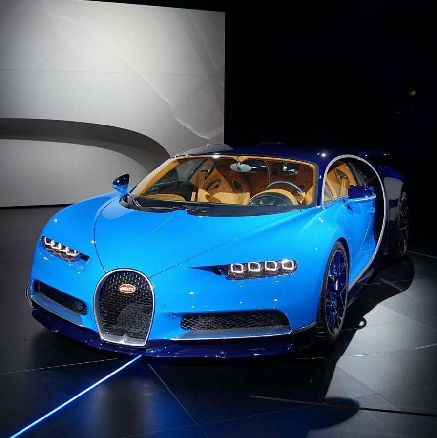 2016 Geneva Motor Show Bugatti Chiron First Look: Officieel: Dit Is De Bugatti Chiron!