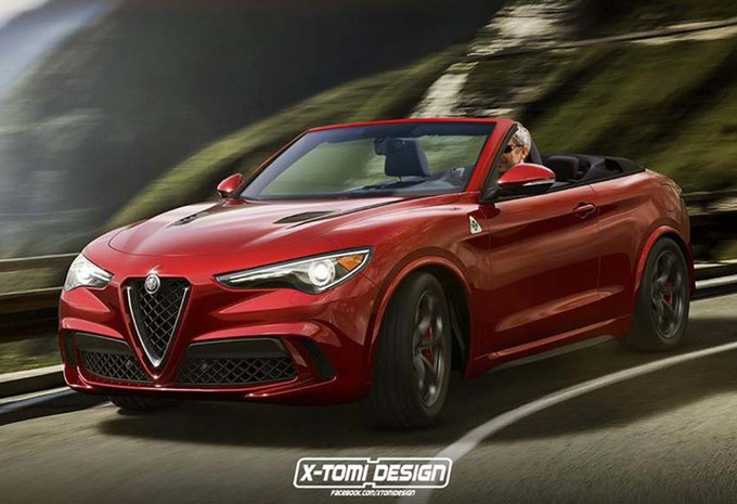 alfa romeo stelvio nu ook als cabriolet. Black Bedroom Furniture Sets. Home Design Ideas