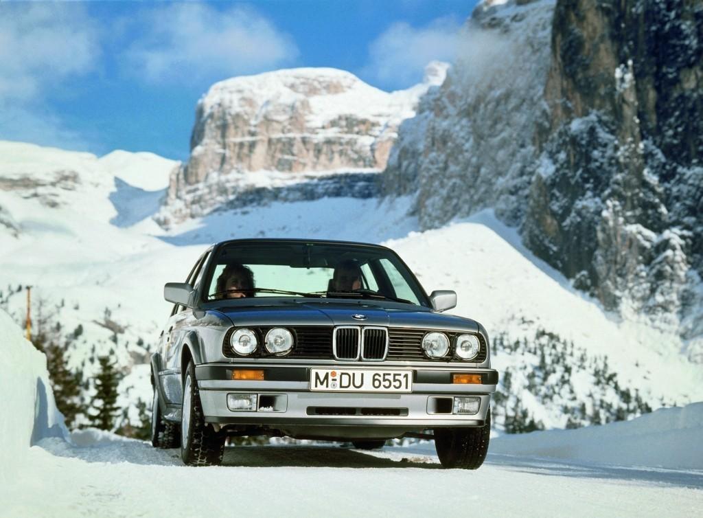 BMW E30, BMW, E30, Sneeuw, Driften