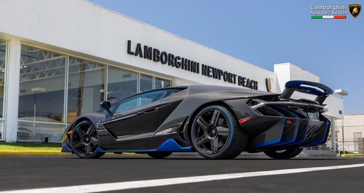De Eerste Lamborghini Centenario Is In De V S En Wie