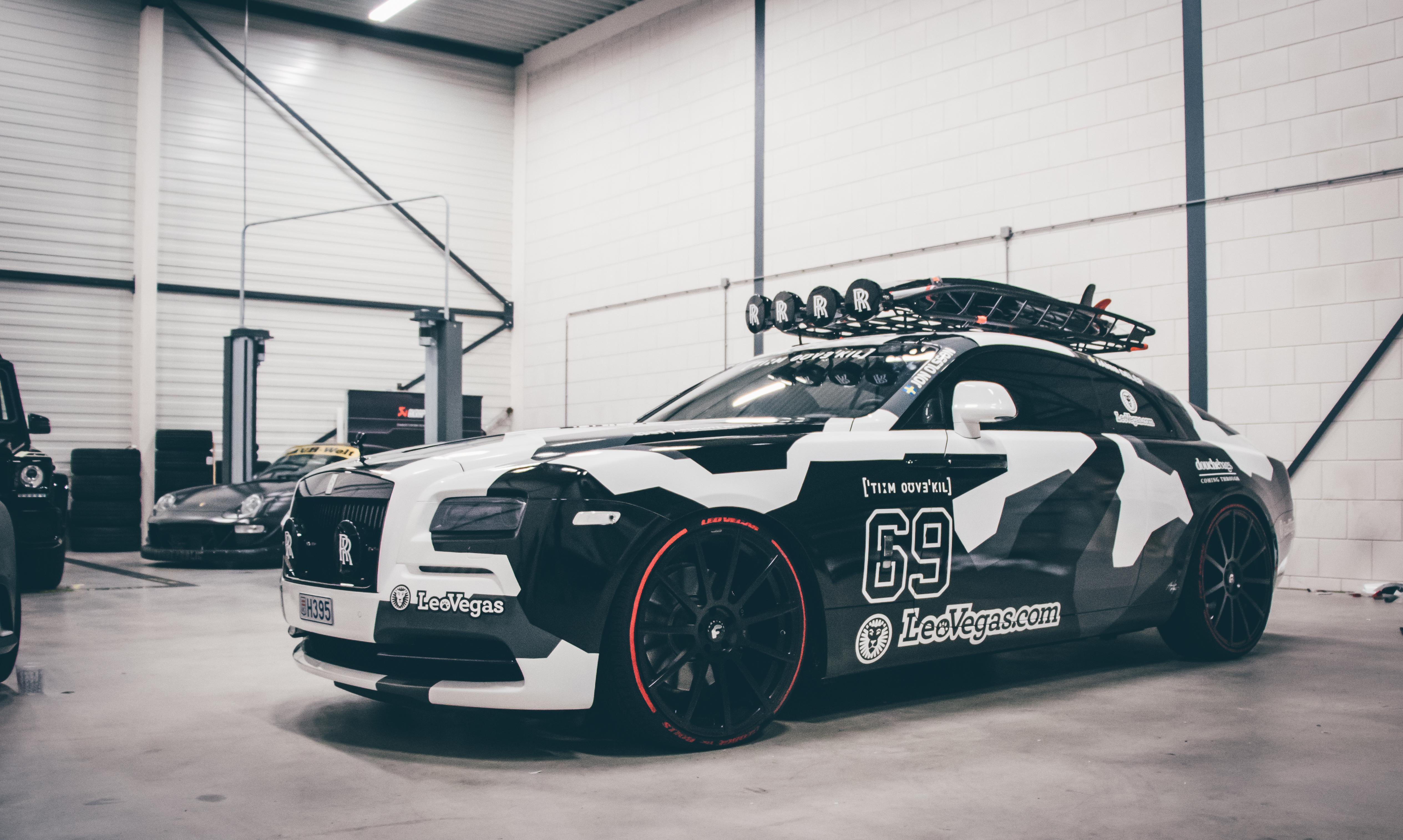 [Video] Dit is de Rolls-Royce Wraith van Jon Olsson ... Joel Beukers
