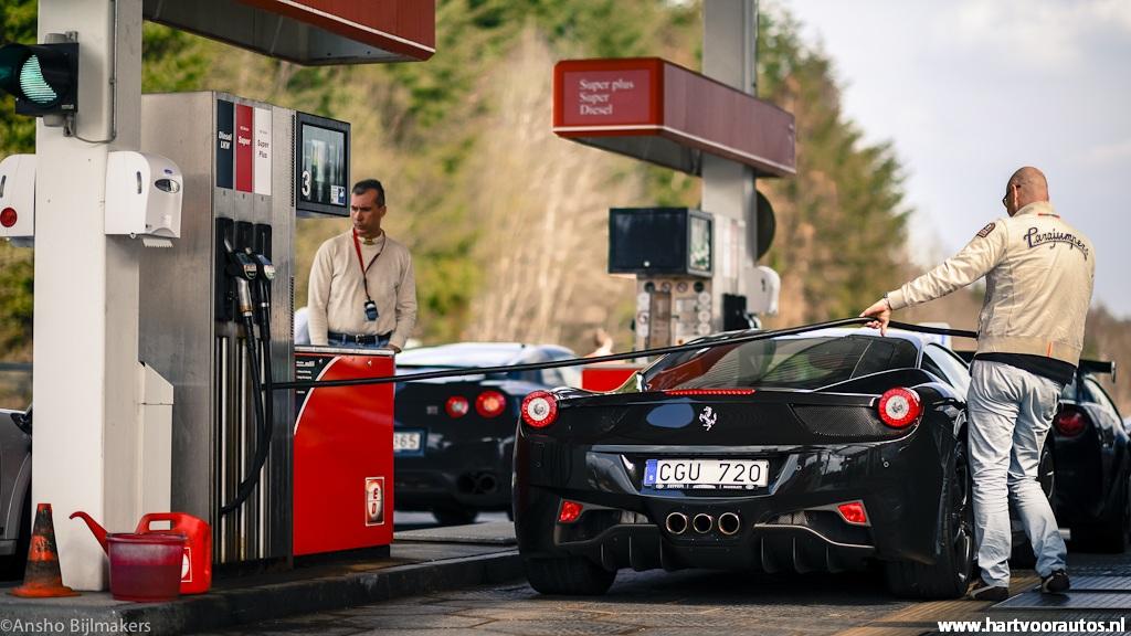 @ Gasstation- Granturismo Events Nurburgring 2012 - Hartvoorautos.nl