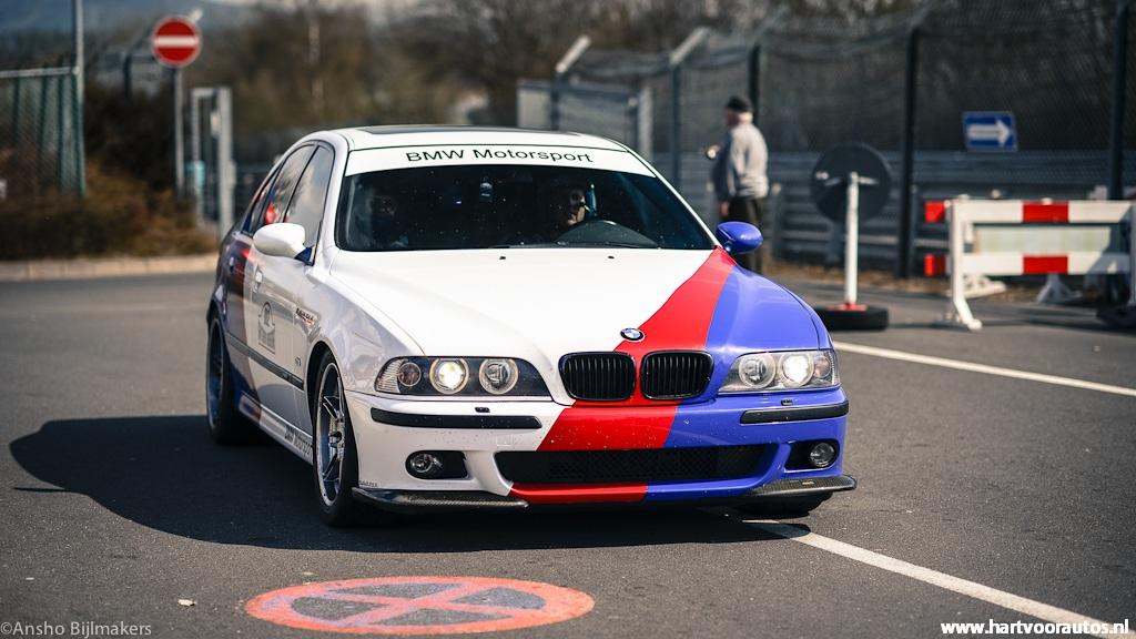 BMW M5 E39 - Granturismo Events Nurburgring 2012 - Hartvoorautos.nl