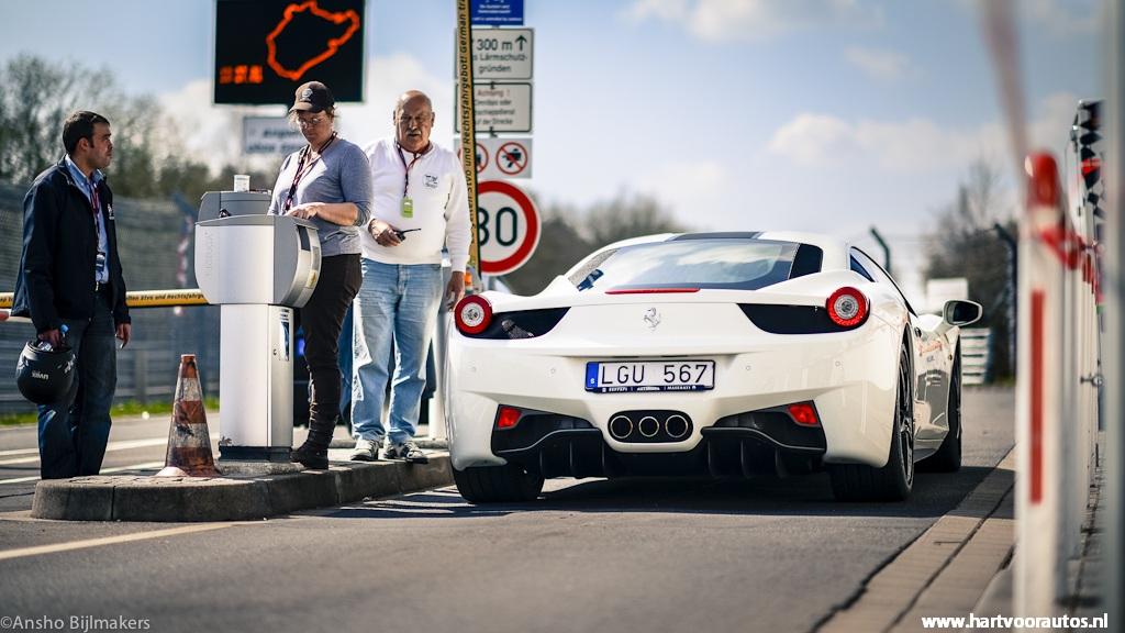 Ferrari 458 Italia - Granturismo Events Nurburgring 2012 - Hartvoorautos.nl