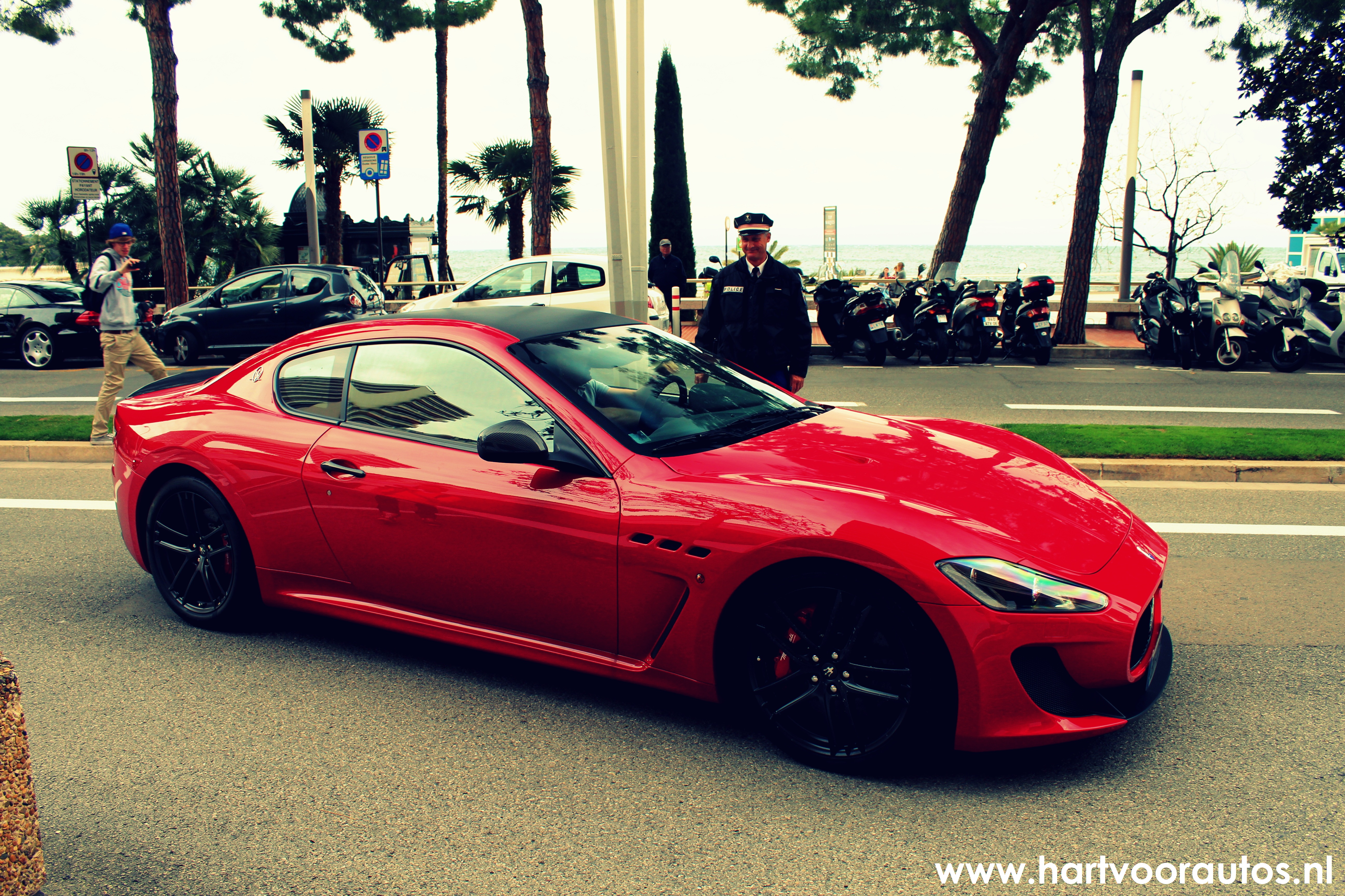 Ferrari & Maserati Pulled Over - Top Marques 2012 - www.hartvoorautos.nl
