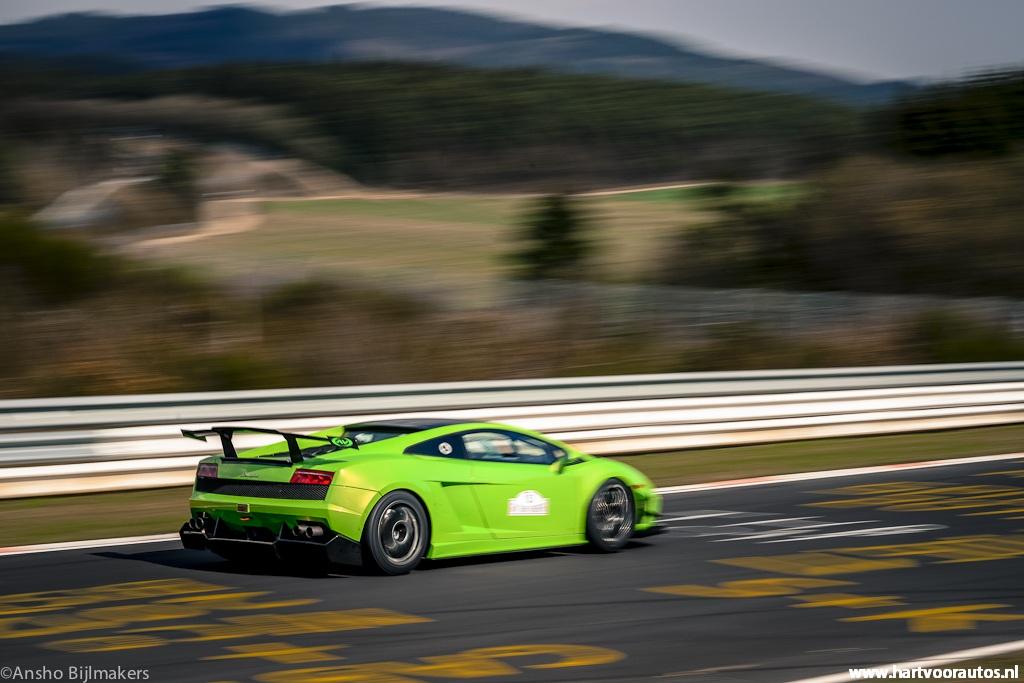 Lamborghini LP560-4 Super Trofeo - Granturismo Events Nurburgring 2012 - Hartvoorautos.nl