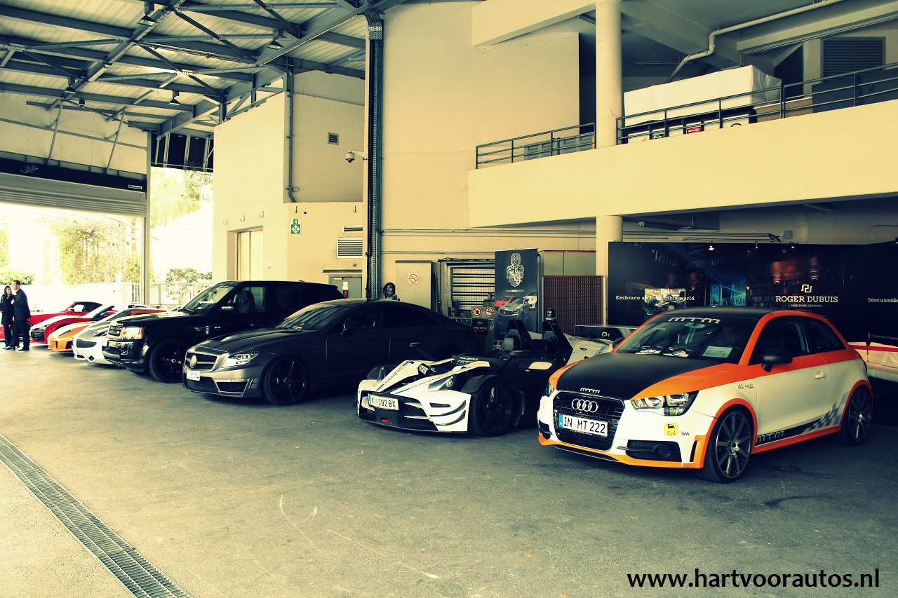 Line-up Test Drives - Top Marques 2012 - www.hartvoorautos.nl
