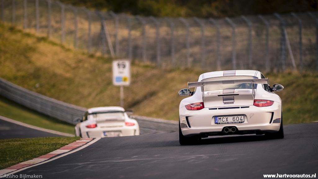 Porsche 997 GT3 3.8 - Granturismo Events Nurburgring 2012 - Hartvoorautos.nl
