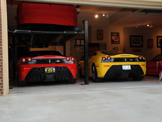Supercars parkeer je in ultieme garages for Garage auto 7
