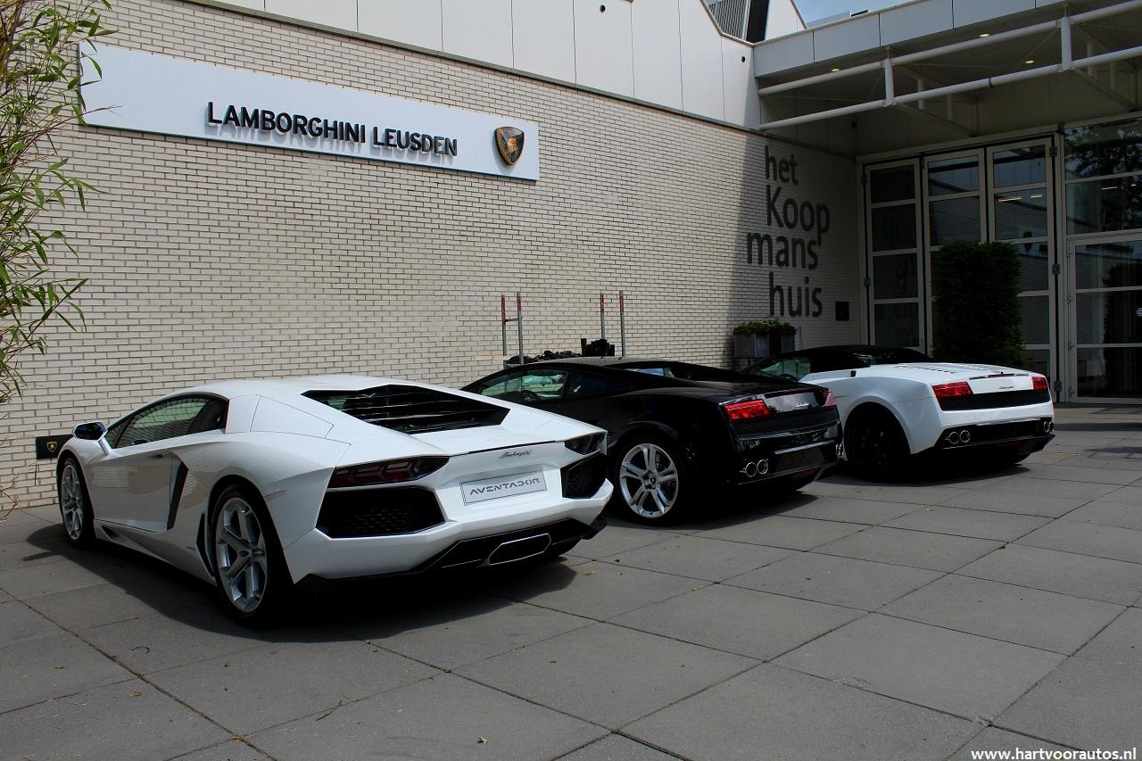 Lamborghini Aventador Spyder >> Lamborghini Leusden werkt hard aan een succesvol ...