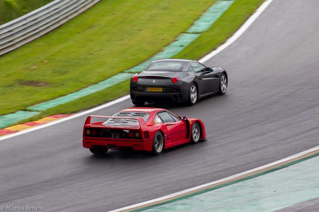 Ferrari Owners Day 2012 Ferrari F40