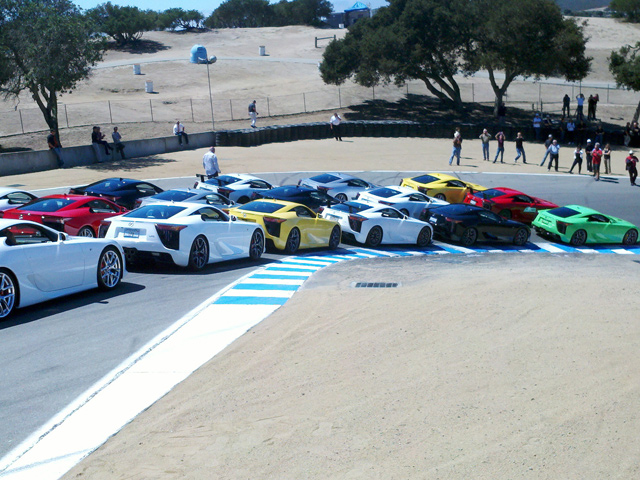 Lexus LFA Owners Meet @ Mazda Raceway Laguna Seca - www.hartvoorautos.nl