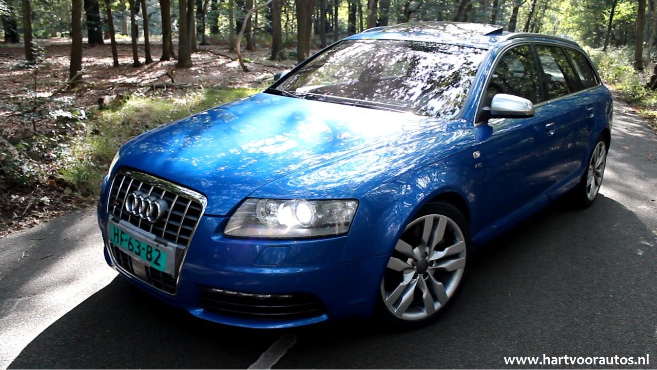 Audi S6 5.2 V10 - www.hartvoorautos.nl