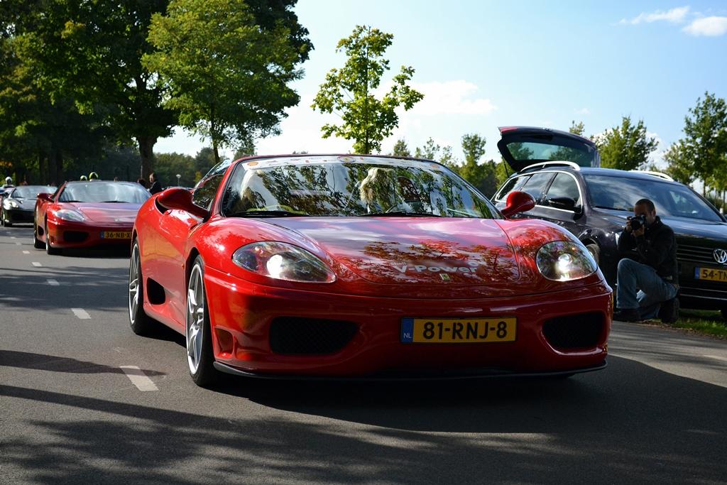 Ferraridag in Toverland - www.hartvoorautos.nl