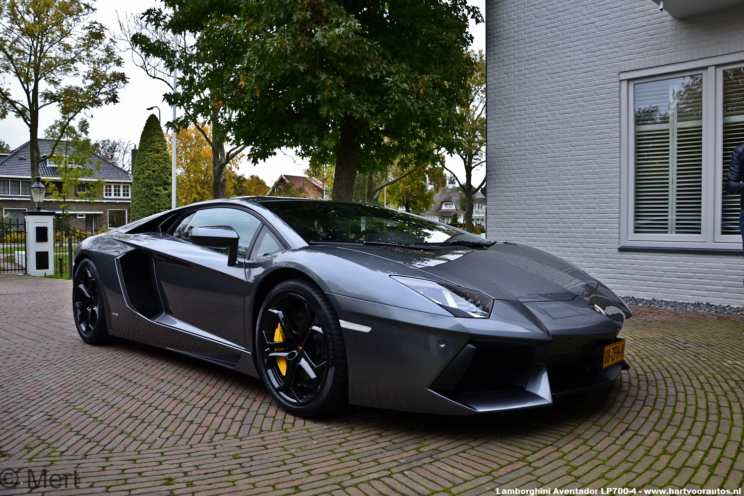 first lamborghini aventador in the netherlands. Black Bedroom Furniture Sets. Home Design Ideas