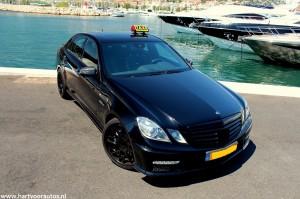 Mercedes-Benz E63 AMG Taxi - www.hartvoorautos.nl