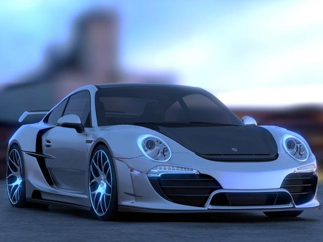 Porsche 911 Attack by Anibal Automotive - www.hartvoorautos.nl