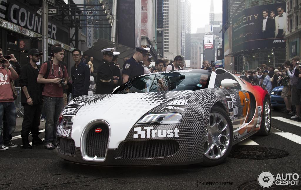 Bugatti Veyron Grand Sport 'Team Trust' - Gumball 3000 - www.hartvoorautos.nl