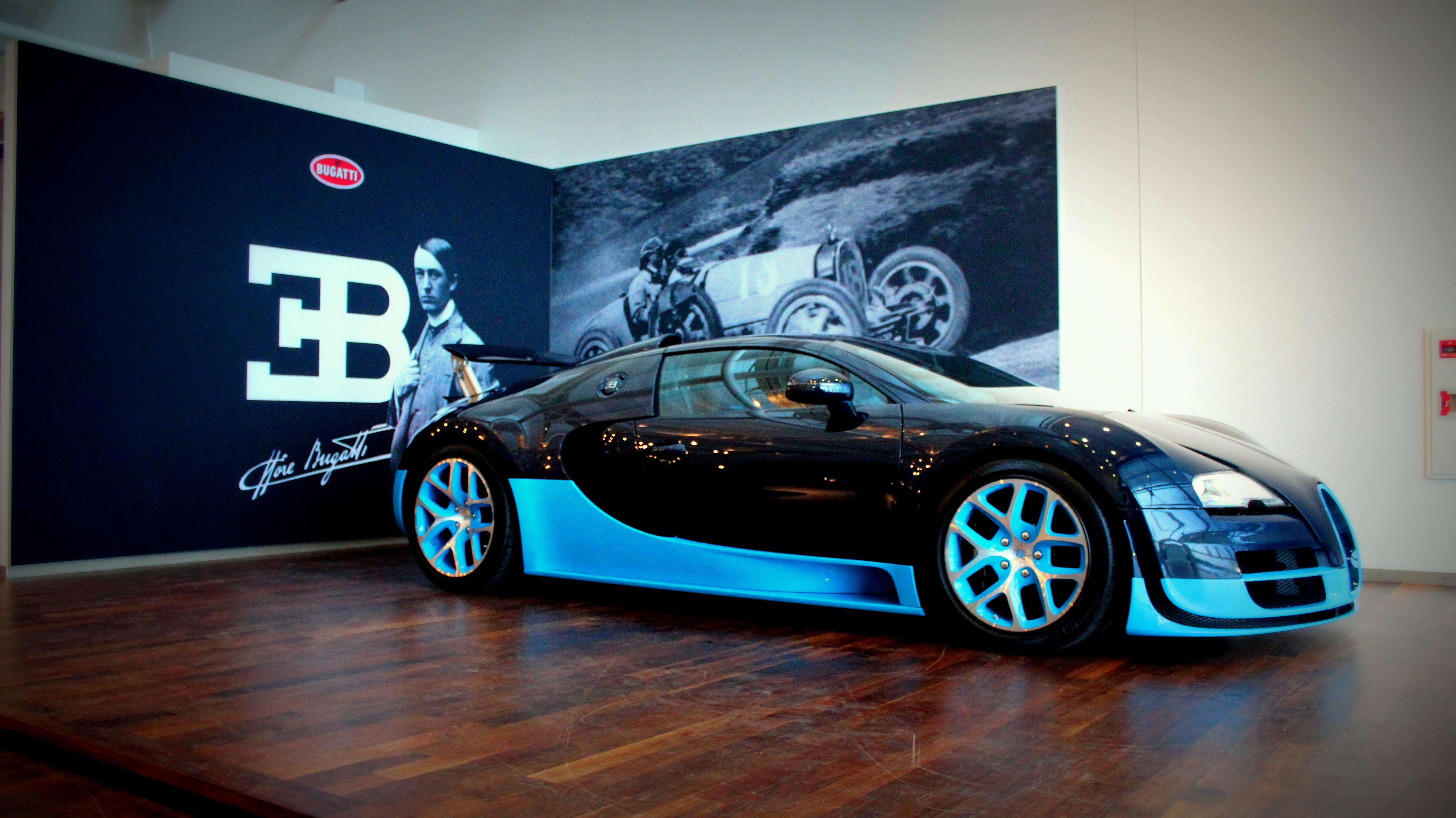 Bugatti Veyron Grand Sport Vitesse - www.hartvoorautos.nl