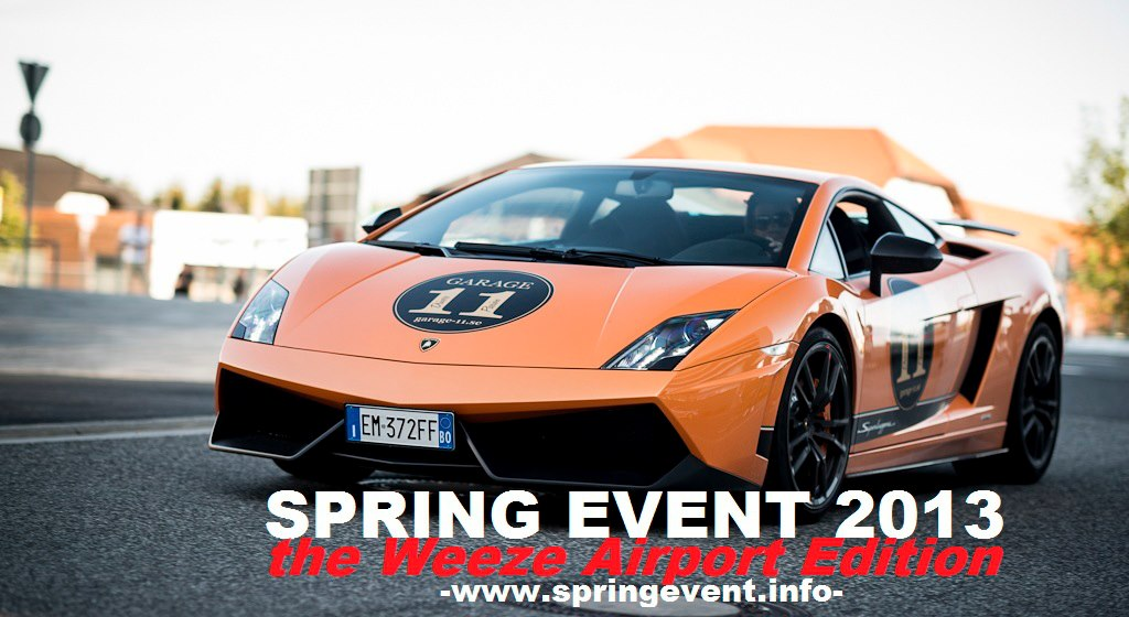 Spring Event, the Weeze Airport Edition - www.hartvoorautos.nl