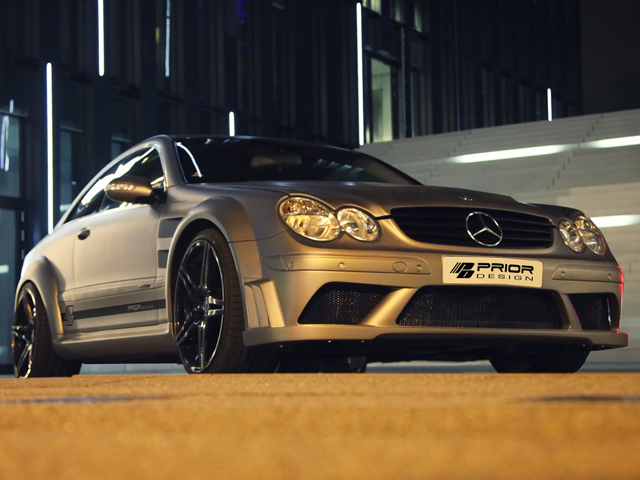 Mercedes-Benz CLK63 AMG Black Series by Prior Design - www.hartvoorautos.nl