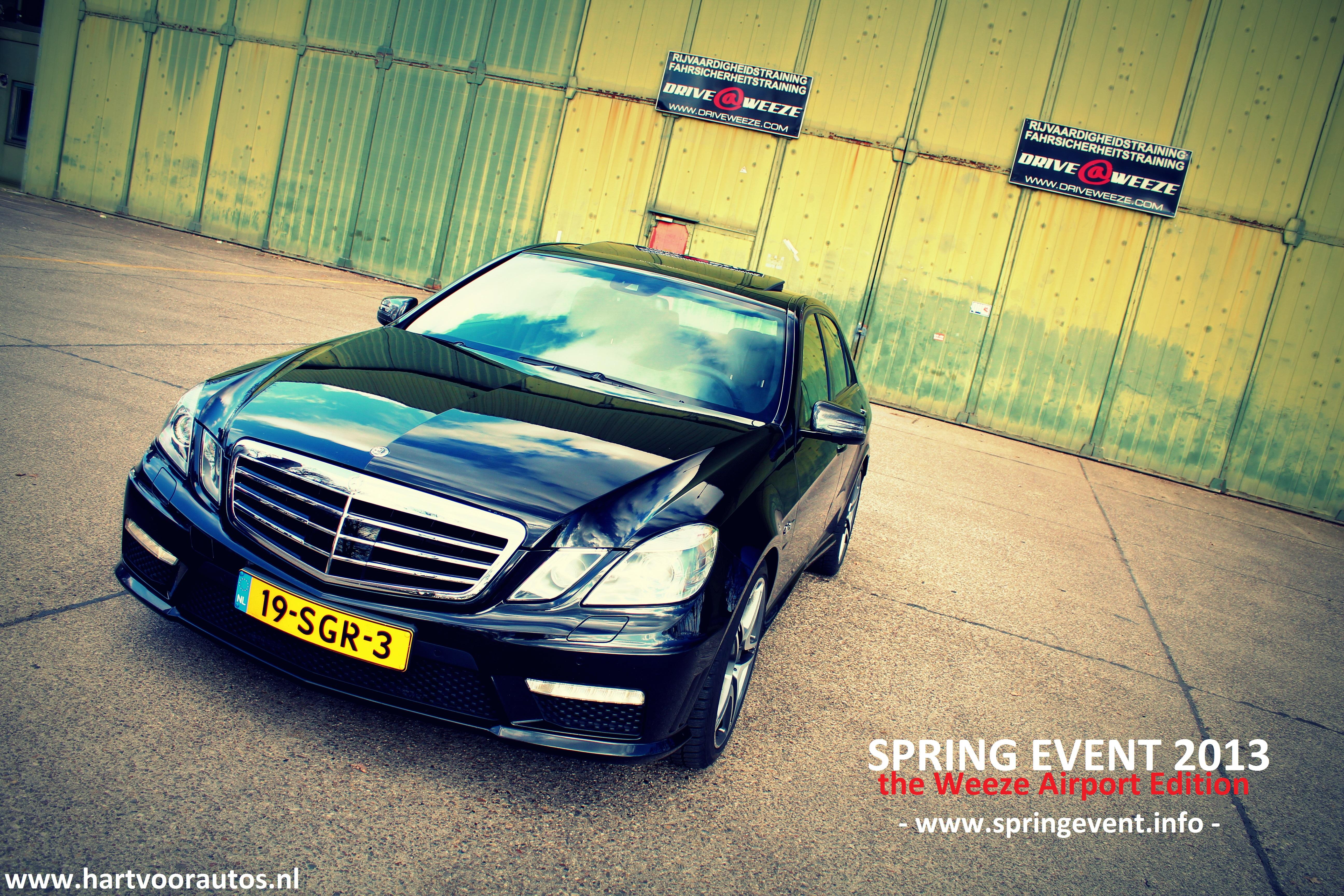 Mercedes-Benz E63 @ Weeze Airport - www.hartvoorautos.nl