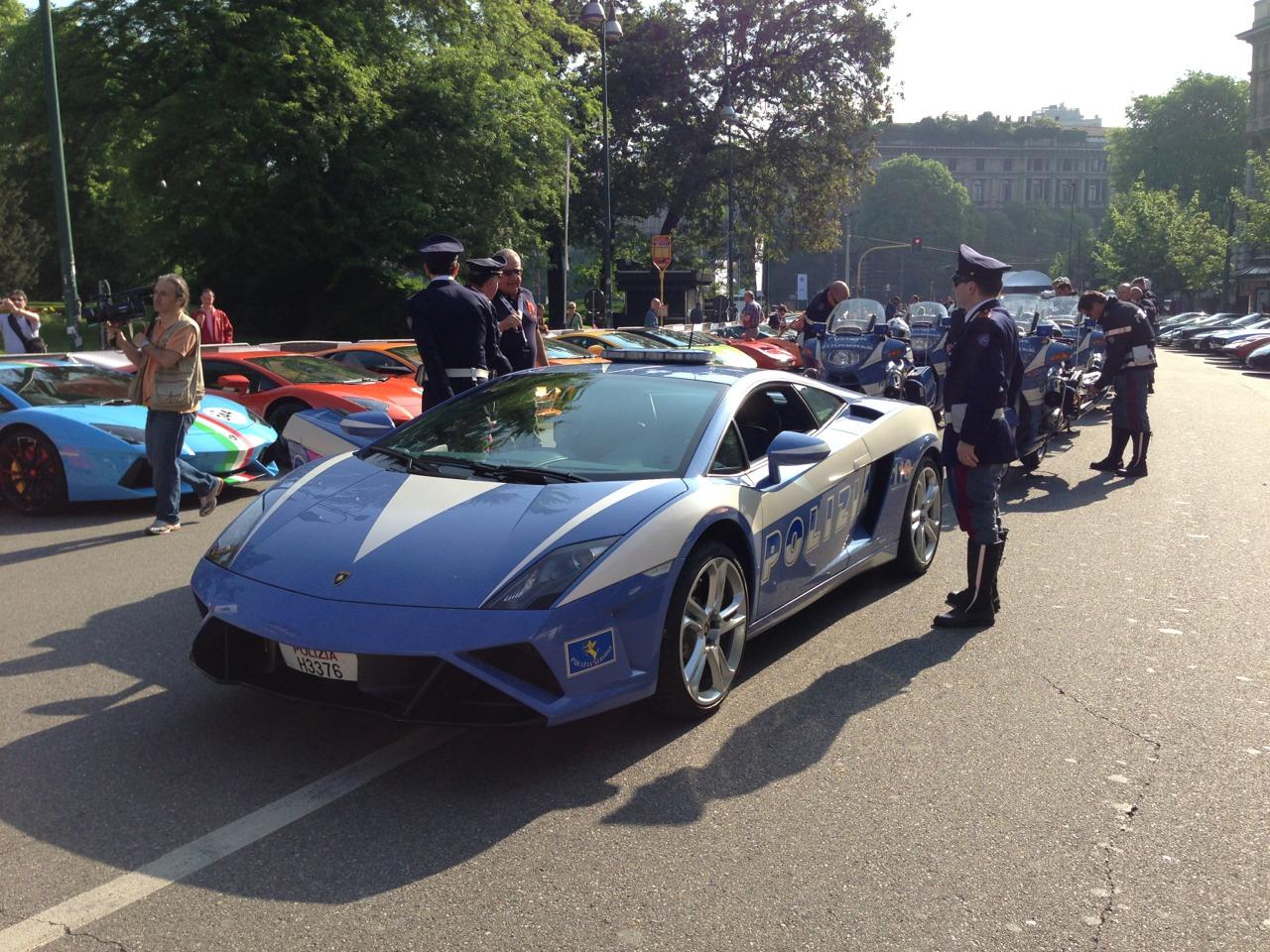 Lamborghini 50th Anniversary Grand Tour -  Team Oranje - www.hartvoorautos.nl