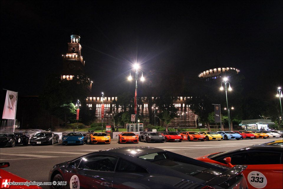 Lamborghini 50th Anniversary Grand Tour - www.hartvoorautos.nl