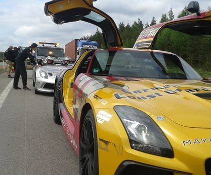 Pulled Over by the Police - Gumball 3000 2013