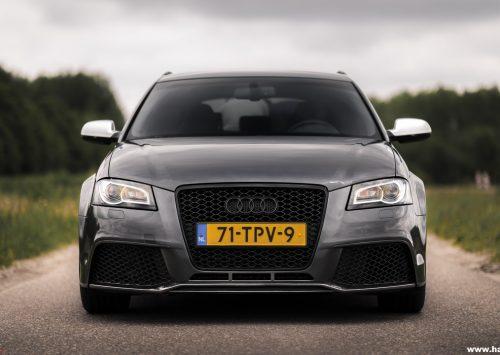 Getest: Audi RS3 Sportback, bom in maatpak