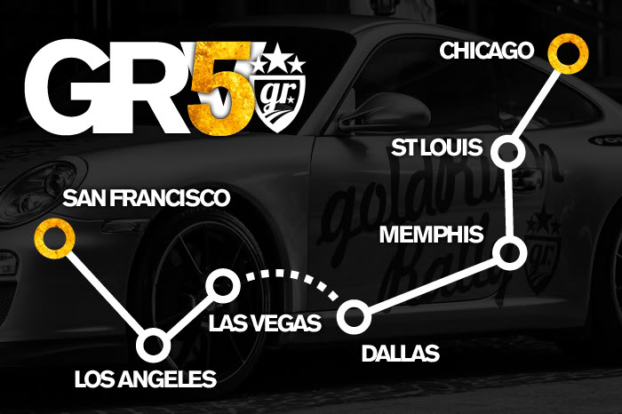 goldRush Rally GRV Route