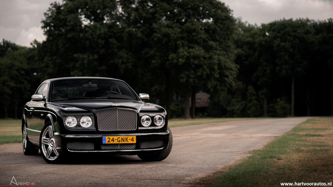 Porsche Turbo S Cabriolet & Bentley Brooklands - www.hartvoorautos.nl