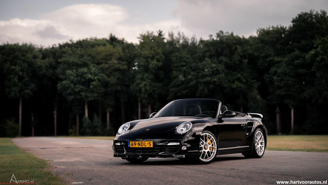 Porsche Turbo S Cabriolet - www.hartvoorautos.nl