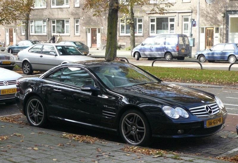 Mercedes-Benz SL55 AMG - www.hartvoorautos.nl