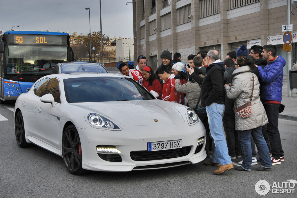 Radamel Falcao - Porsche Panamera Turbo Techart - www.hartvoorautos.nl