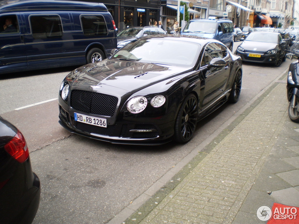 Ryan Babel - Bentley Mansory Continental GT 2012 - www.hartvoorautos.nl