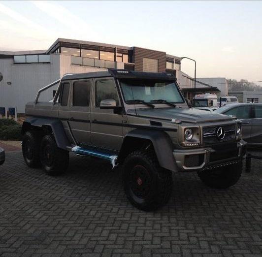 Mercedes Benz G63 Amg 6x6 In Nederland Gespot Hartvoorautos Nl