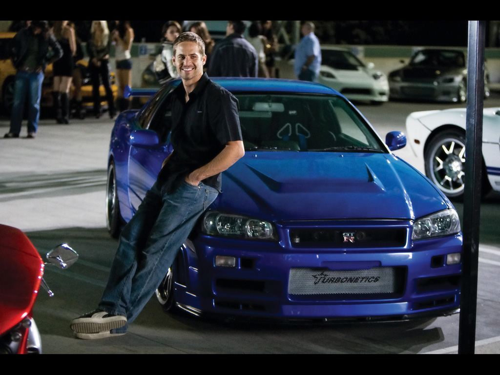 Paul Walker - Nissan Skyline R34 GTR - Fast and Furious - www.hartvoorautos.nl