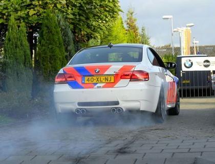 Politieauto - BMW M3 - www.hartvoorautos.nl
