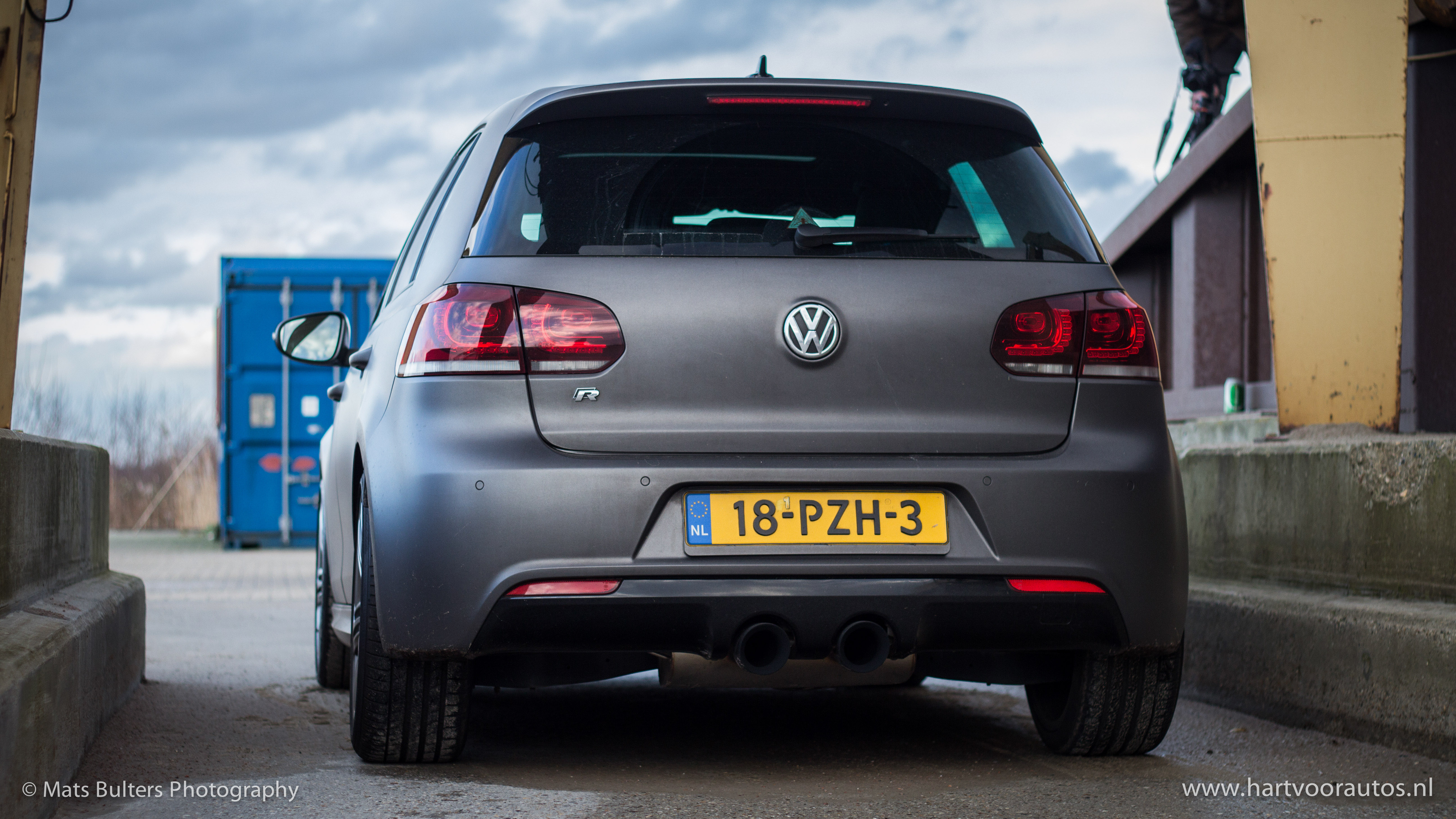 Volkswagen Golf R - www.hartvoorautos.nl