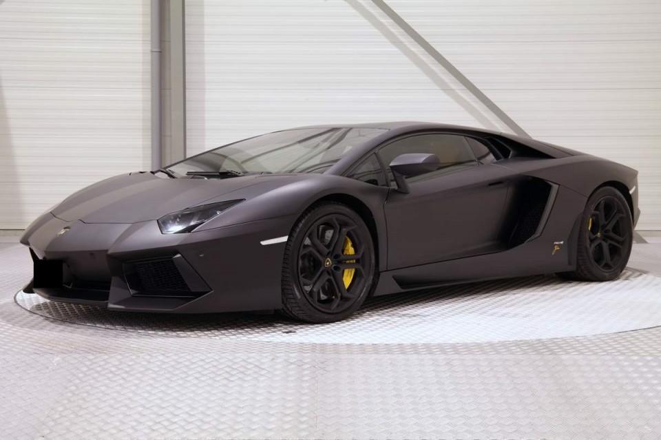 Te Koop Lamborghini Aventador Van Dj Afrojack