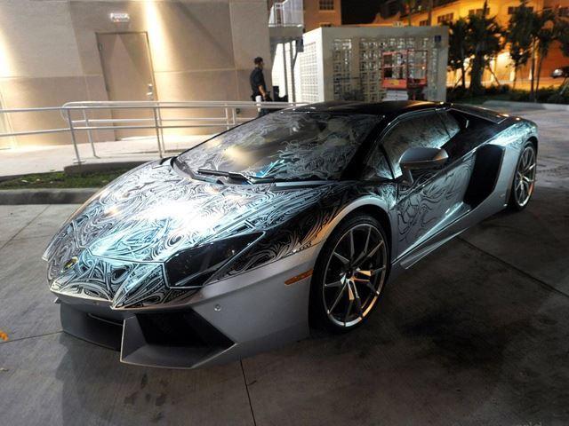 One Of A Kind Lamborghini Aventador Roadster For Sale Hartvoorautos Nl