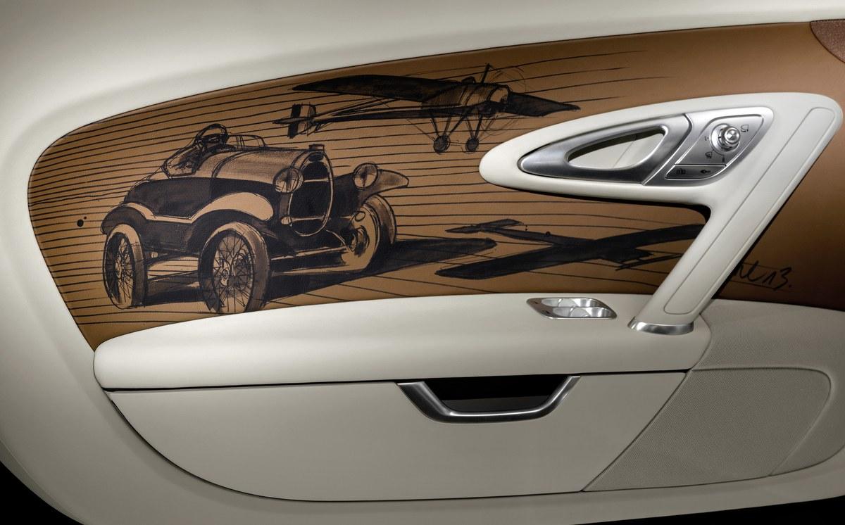 Bugatti Black Bess, 6e Legende basée sur la Veyron Grand