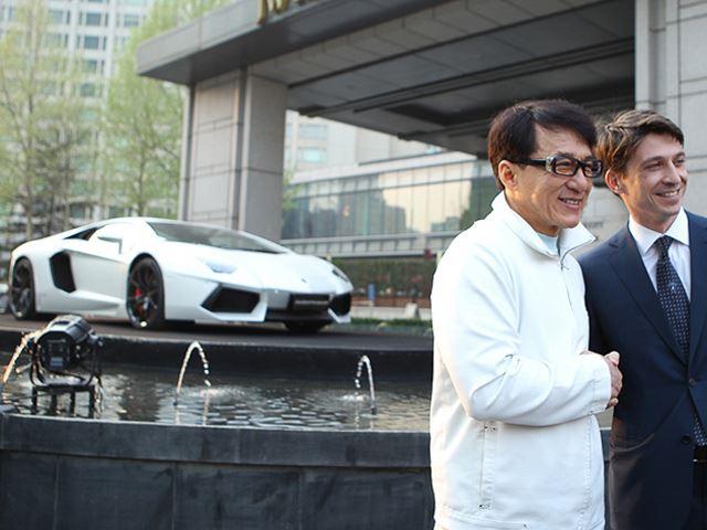 Lamborghini Aventador Jackie Chan Edition - www.hartvoorautos.nl