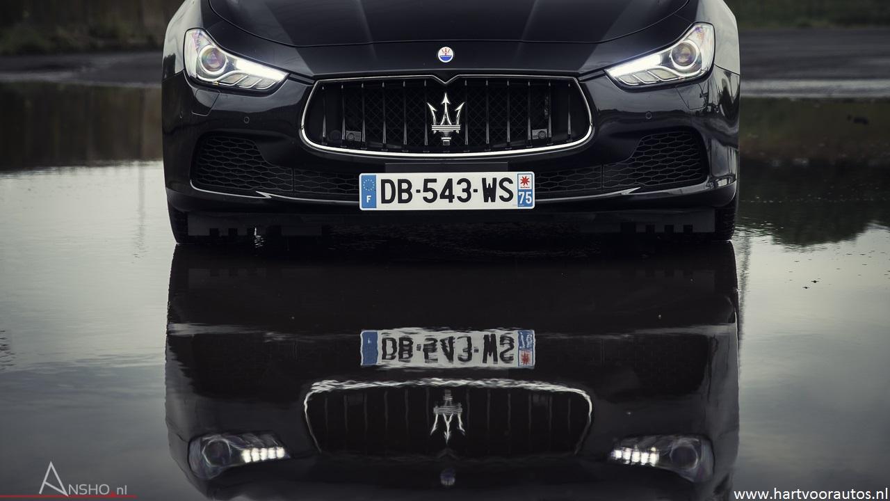 Maserati Ghibli S Q4 - www.hartvoorautos.nl